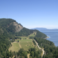 Saturna Winery Aerial