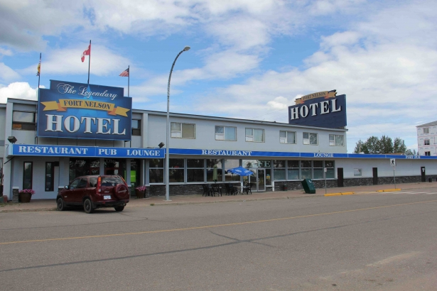 Fort Nelson Hotel Front View